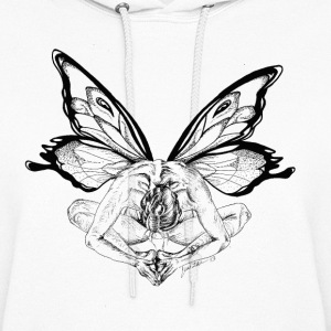 Yoga Tree Butterfly Sweatshirt - Women's Hoodie