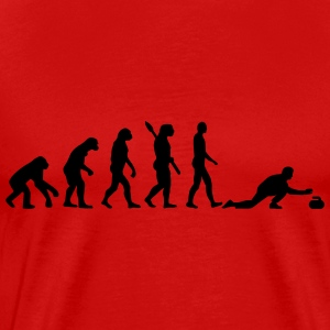 Curling Evolution T-Shirts - Men's Premium T-Shirt