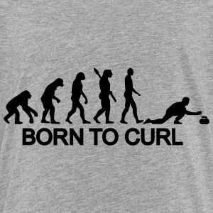 Curling Evolution Kids' Shirts - Kids' Premium T-Shirt