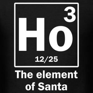 the_element_of_santa T-Shirts - Men's T-Shirt