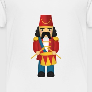 cute nutcracker like soldier with drums Baby & Toddler Shirts - Toddler Premium T-Shirt