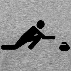 Curling T-Shirts - Men's Premium T-Shirt