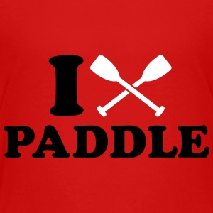 I love Paddle Kids' Shirts - Kids' Premium T-Shirt