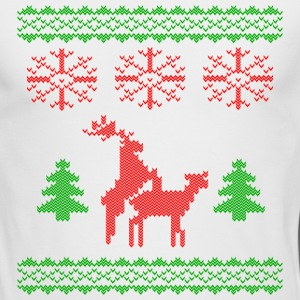 christmas reindeer make love knit Long Sleeve Shirts - Men's Long Sleeve T-Shirt by Next Level