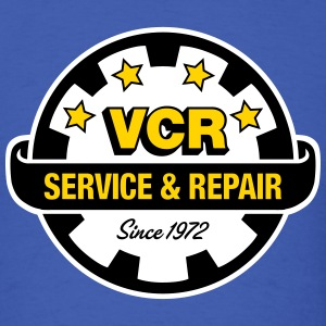 VCR - Service and Repair - Men's T-Shirt
