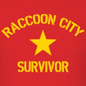 Raccoon City Survivor - Men's T-Shirt