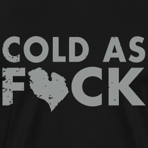 Cold As Michigan T-Shirts - Men's Premium T-Shirt
