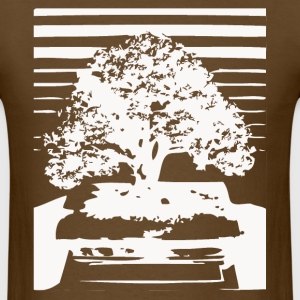 Bonsai Tree Art  - Men's T-Shirt