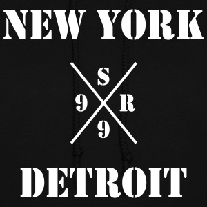 shady new york vs detroit - xsr99 Hoodies - Women's Hoodie