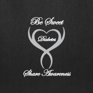 Be Sweet Share Awareness Diabetes Tote Bag - Tote Bag