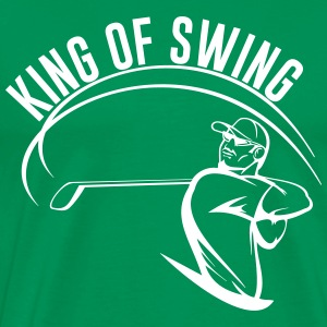 Golf. King of Swing T-Shirts - Men's Premium T-Shirt