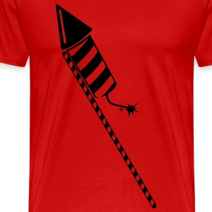 New Year rocket T-Shirts - Men's Premium T-Shirt