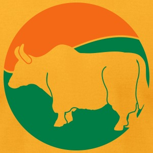Wildlife: the Yak T-Shirts - Men's T-Shirt by American Apparel