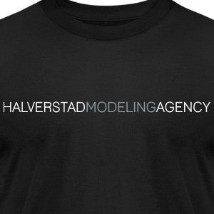 Most Popular Girls Halverstad Modeling Agency T-Shirts - Men's T-Shirt by American Apparel