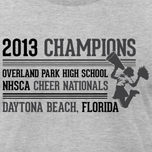 Most Popular Girls 2013 Champions dark T-Shirts - Men's T-Shirt by American Apparel