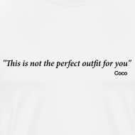 Design ~ CoCo quote - outfit
