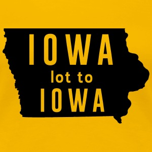 Iowa lot to Iowa Women's T-Shirts - Women's Premium T-Shirt