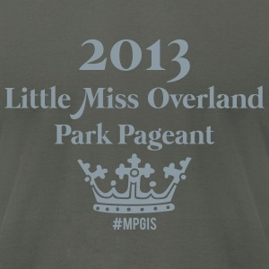 Most Popular Girls Little Miss Overland T-Shirts - Men's T-Shirt by American Apparel