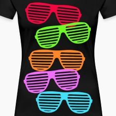 Retro Sunglasses Women's T-Shirts