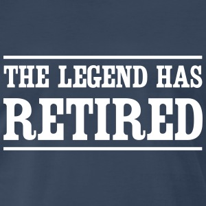 The legend has retired T-Shirts - Men's Premium T-Shirt