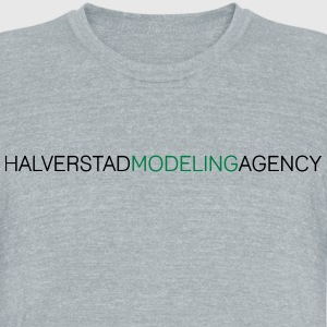Most Popular Girls Halverstad Modeling Agency T-Shirts - Unisex Tri-Blend T-Shirt by American Apparel