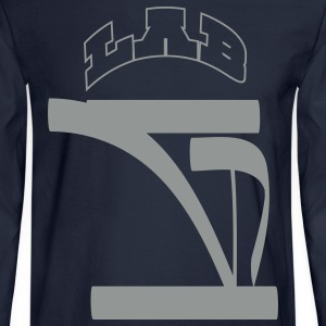 G Crown (Lifted Texture) - Men's Long Sleeve T-Shirt