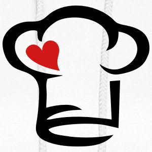 Cook Chef's hat heart, kitchen, chef, restaurant,  Hoodies - Women's Hoodie