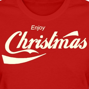 Enjoy Christmas Parody Logo Shirt - Women's T-Shirt