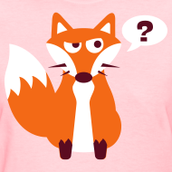 Design ~ What Does The Fox Say Women's Tee