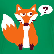 Design ~ What Does The Fox Say Kids Tee
