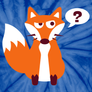 Design ~ What Does The Fox Say Tie Dye Tee