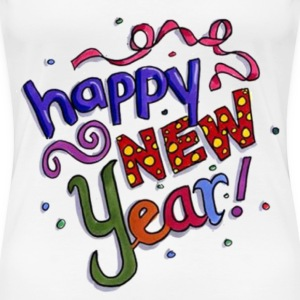 Happy New Year Women's T-Shirts - Women's Premium T-Shirt