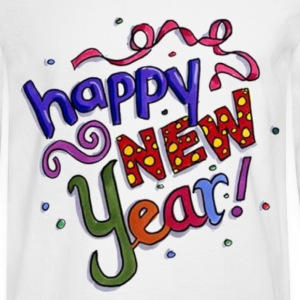 Happy New Year Long Sleeve Shirts - Men's Long Sleeve T-Shirt