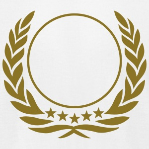 Laurel wreath, 5 stars, Award, best, hero, winner T-Shirts - Men's T-Shirt by American Apparel