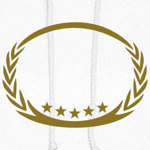 5 stars laurel wreath, winner, sports, champion,  Hoodies - Women's Hoodie