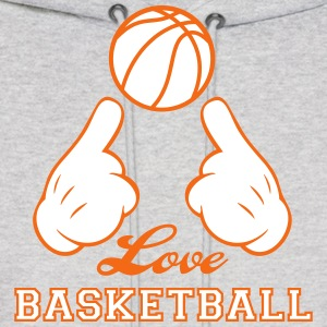 Love Basketball Hoodies - Men's Hoodie