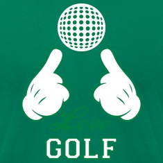 Love Golf T-Shirts