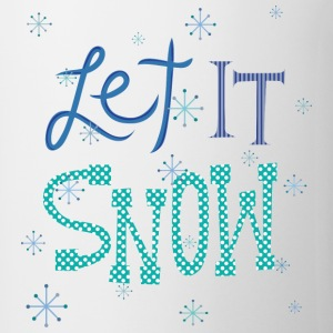 Let It Snow Bottles & Mugs - Coffee/Tea Mug