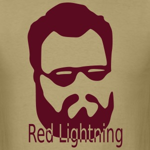 Red Lightning - Men's T-Shirt