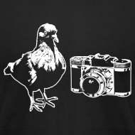 Design ~ 'Pigeon Camera' Tee