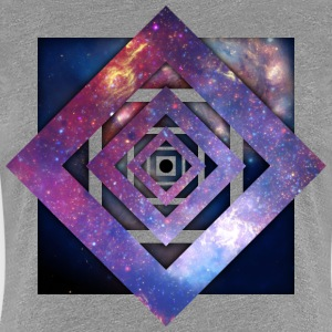 Art - Twisted Galaxy Women's T-Shirts - Women's Premium T-Shirt