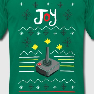 Ugly Sweater - Geek - Men's T-Shirt by American Apparel