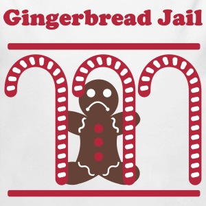 Gingerbread Jail - Long Sleeve Baby Bodysuit
