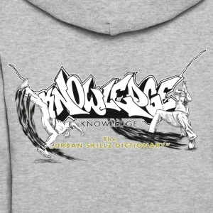 KNOWLEDGE - the urban skillz dictionary - promo sh Hoodies - Women's Hoodie