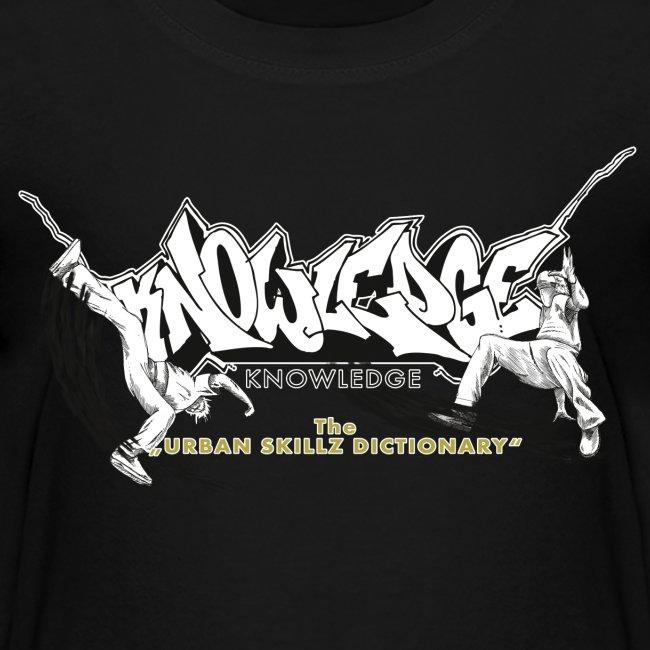 KNOWLEDGE - the urban skillz dictionary - promo shirt