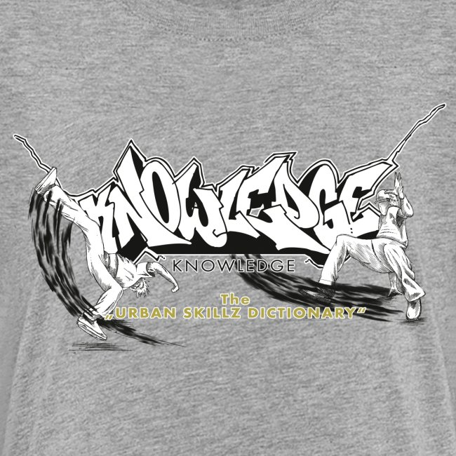 KNOWLEDGE - the urban skillz dictionary - promo shirt