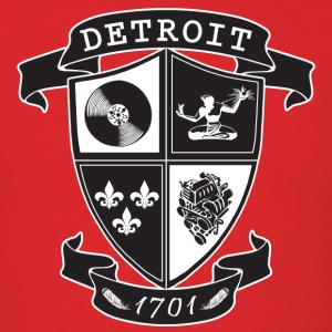 A Detroit Crest T-Shirts - Men's T-Shirt