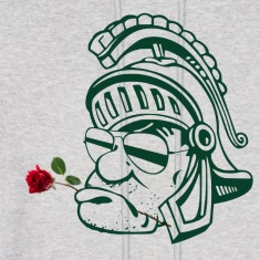 Sparty Rose Sweatshirt
