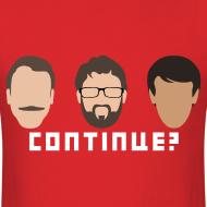 Design ~ Continue? Retro Minimalist Design by Akira Arruda