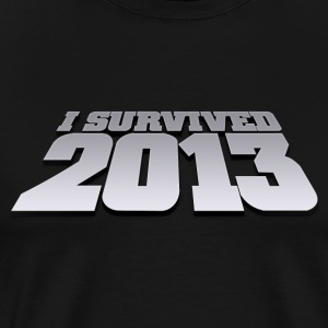 i survived 2013 T-Shirts - Men's Premium T-Shirt
